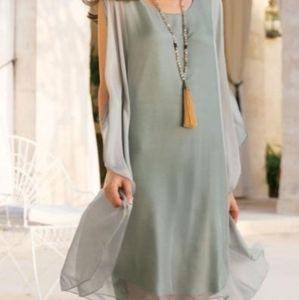 Silk Tribeca dress size large